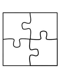Printable Puzzle Piece Template Printable Templates 24 Puzzle Template