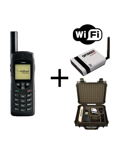 Wifi Satelit iridium 9555 satellite phone wifi to go package with solar and data