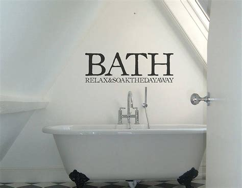 wall sticker vinyl bath sign vinyl sticker contemporary wall stickers