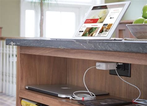 burlwood charging station traditional home electronics our pick of the kitchen colours and trends for 2018 semble