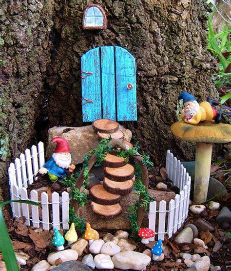 Fairies For Garden Decor Garden Set By Hickory Hill Woodworks Contemporary Outdoor Decor By Etsy