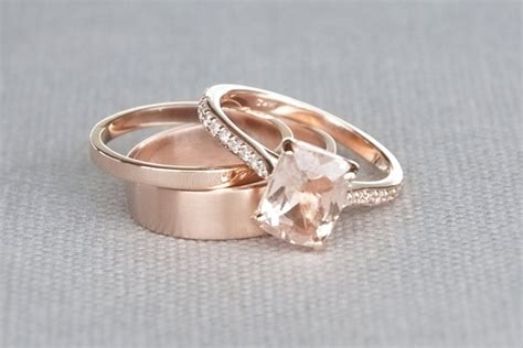 buy engagement ring morganite engagement ring buying and cleaning guide