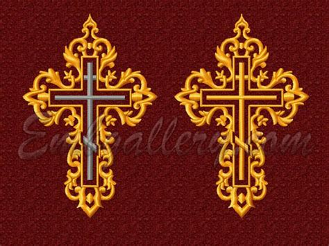 embroidery design religion religious machine embroidery