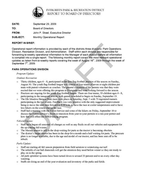 board report template best photos of ceo report template executive report