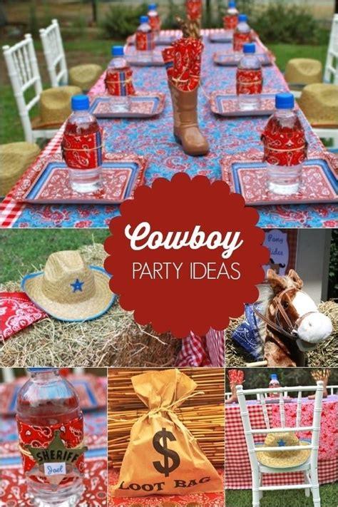 257 best cowboy party ideas images on pinterest theme