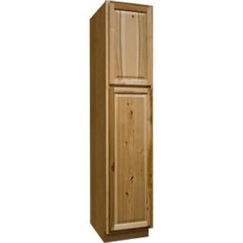 Home Depot Kitchen Pantry Cabinet by Hton Bay Hton Assembled 18x84x24 In Pantry Kitchen Cabinet In Hickory Kp1884 Nhk