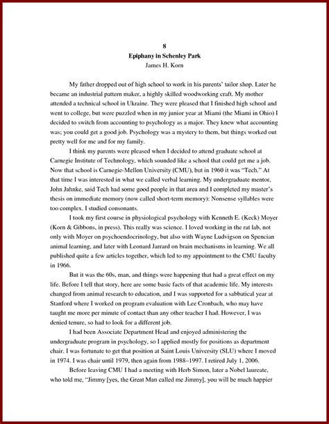 autobiography essay template autobiography essay outline