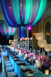 purple and turquoise wedding reception luxe purple and turquoise reception the merry
