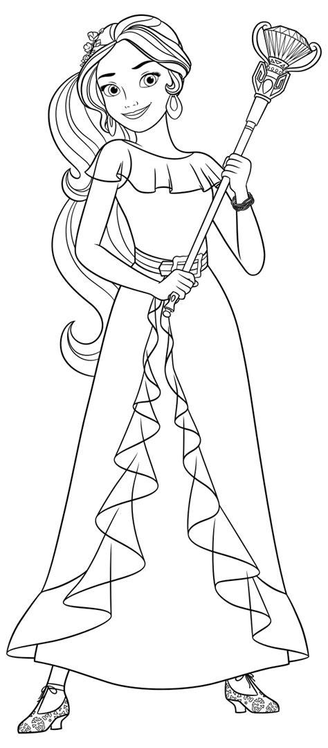 coloring pages princess elena princess elena of avalor coloring pages coloring pages
