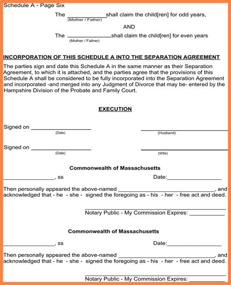 Notarized Custody Agreement Template Ideal Notarized Custody Agreement Su J126502 Edujunction Notarized Custody Agreement Template