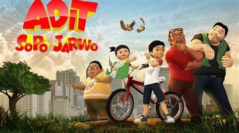 film kartun anak adit sopo jarwo pga 2017 adit sopo jarwo boyong piala program anak dan