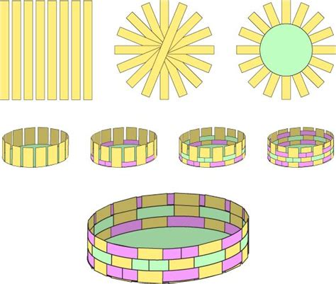 printable paper weaving worksheets how to make a paper woven easter basket cesteria