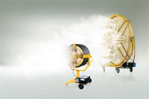 big fans yellow jacket airgo and yellow jacket misting systems beat the summer