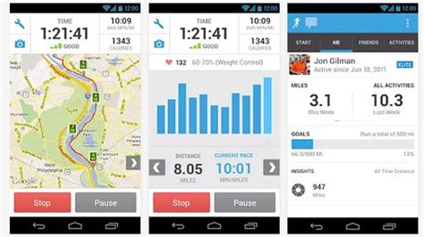 fitness apps for android update my androidfitness app for android runkeeper