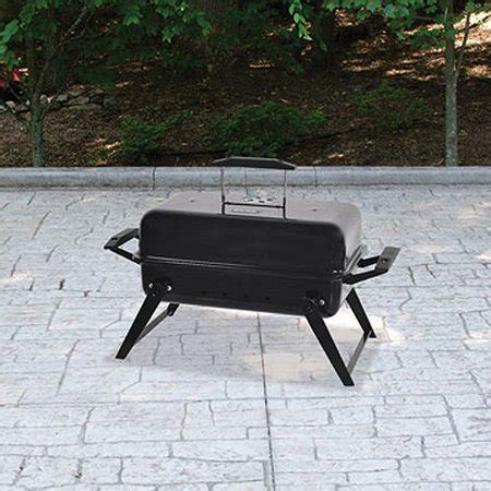 backyard grill 11 8 quot portable charcoal grill walmart
