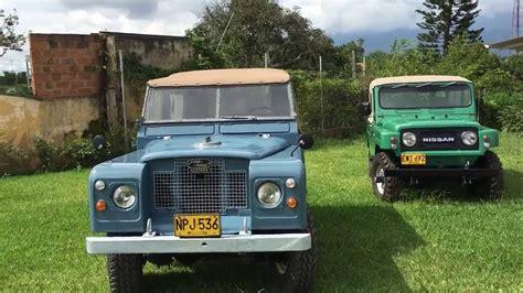 1968 nissan patrol volcan 4x4 1979 nissan patrol and 1968 land rover santana