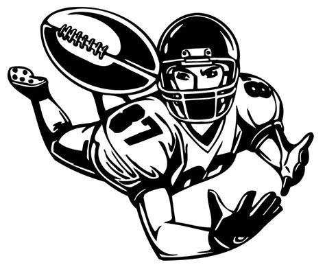 football player clip best football player clipart 20911 clipartion