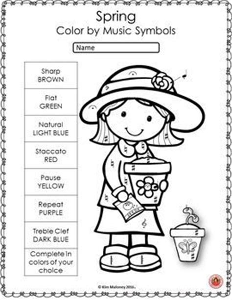 spring music coloring pages spring music lessons 26 spring music coloring pages