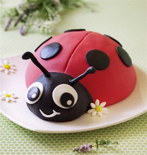 Decor Sucre Gateau by G 226 Teau Coccinelle D 233 Cor En P 226 Te 224 Sucre Diy Tutoriel