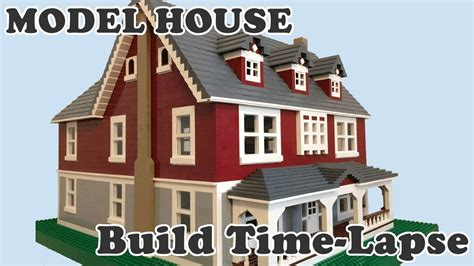build your dream house lego model dream house time lapse build youtube