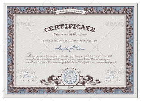 professional certificate templates for word professional certificate template 29 free word format