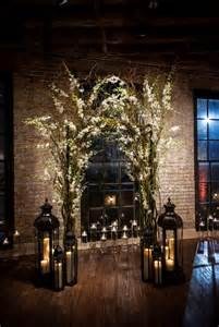 indoor wedding arch 30 winter wedding arches and altars to get inspired weddingomania