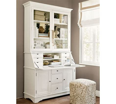 pottery barn desk with hutch graham desk hutch pottery barn