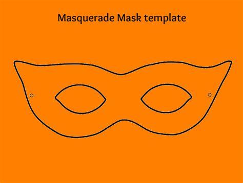 5 masquerade mask template cashier resume