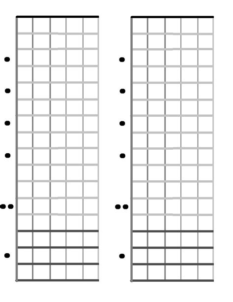 Fretboard Template Generator Guitar Neck Diagrams Diagram Site