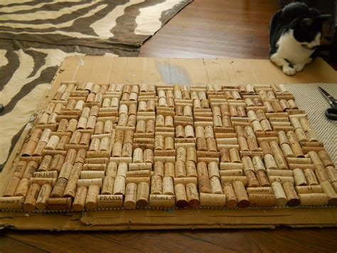 wine cork rug diy wine cork bathmat living well on the cheap