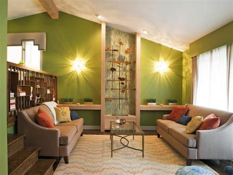 tan rooms contemporary living room in neutral tones and sage green