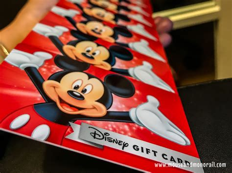 How To Consolidate Gift Cards - how to combine disney gift cards the mouse and the monorail
