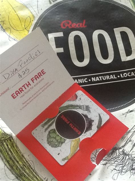 Earth Fare Gift Card - earth fare a chopped give away