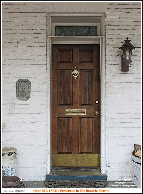 Historic Front Doors Annapolis Experience Picture Of The Day 1850 S Residential Front Door Another Rainy Day