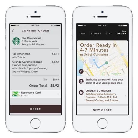 Starbucks launches Mobile Order & Pay in Portland ? NFC World