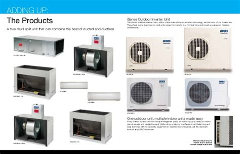 true comfort heating and cooling iseries duct and ductless heating and cooling system by