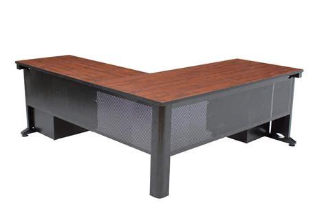 regency office furniture fusion pedestal l desk 66