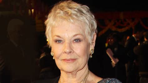 show back of judy dench hairstyle judi dench hairstyle hairstyles ideas