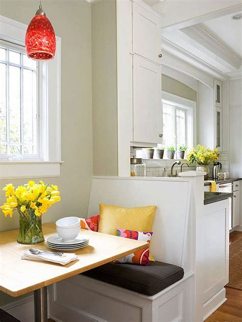 banquettes for small spaces eat in kitchens