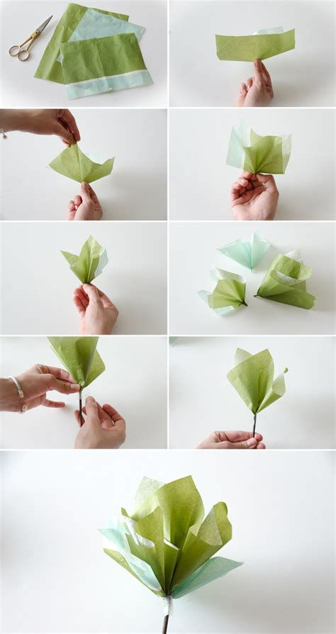 How To Make Paper Flowers Easy - easy paper flowers diy t o d o easy