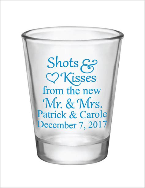 Wedding Favors Glasses by Wedding Favors Glasses 1 5oz Glass Glasses And