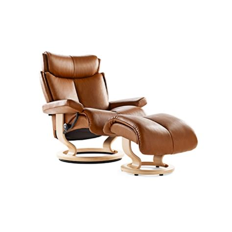 ekornes stressless recliners stressless magic chair and ottoman at decorum furniture