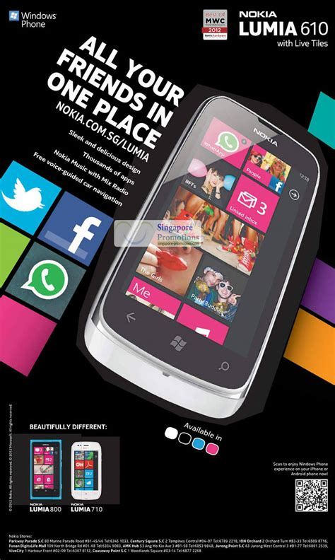 Handphone Nokia Lumia 800 nokia samsung htc sony lg smartphones no contract price list 5 may 2012