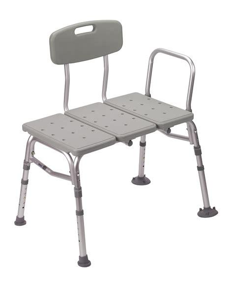shower tub bench drive medical plastic shower tub transfer bench with adjustable backrest rtl12011kdr