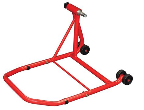 fantasy swing stand product review bikeit paddock stand for single sided