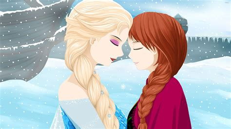 cartoon elsa wallpaper elsa and anna from frozen wallpaper cartoon wallpapers