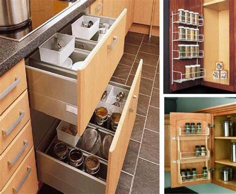 Creative Diy Storage Ideas For Small Spaces And Apartments Kitchen Cabinets Storage Ideas