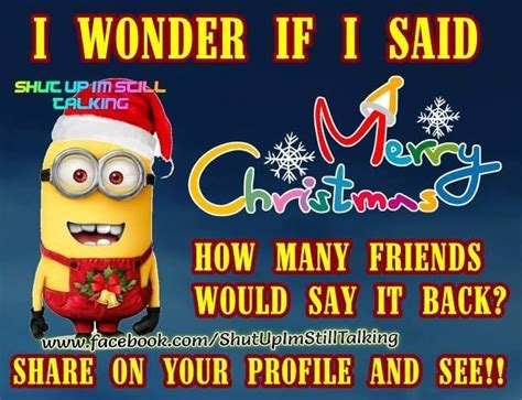 merry christmas minion quote pictures   images  facebook tumblr pinterest