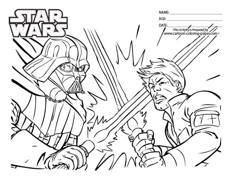 coloring pages online picture 2014 star wars online