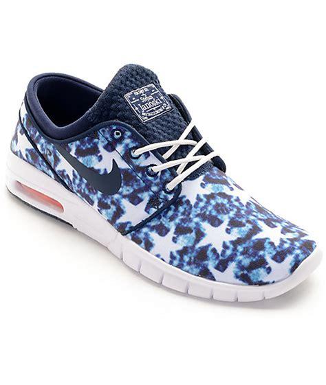 Nike Airmax Janoski Premium nike sb janoski air max premium us flag shoes zumiez